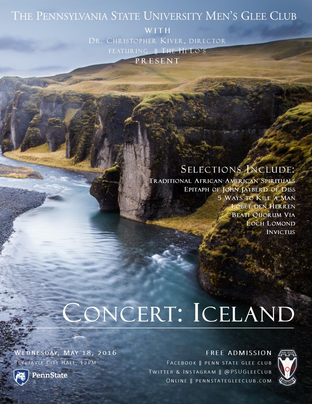 Concert - Iceland