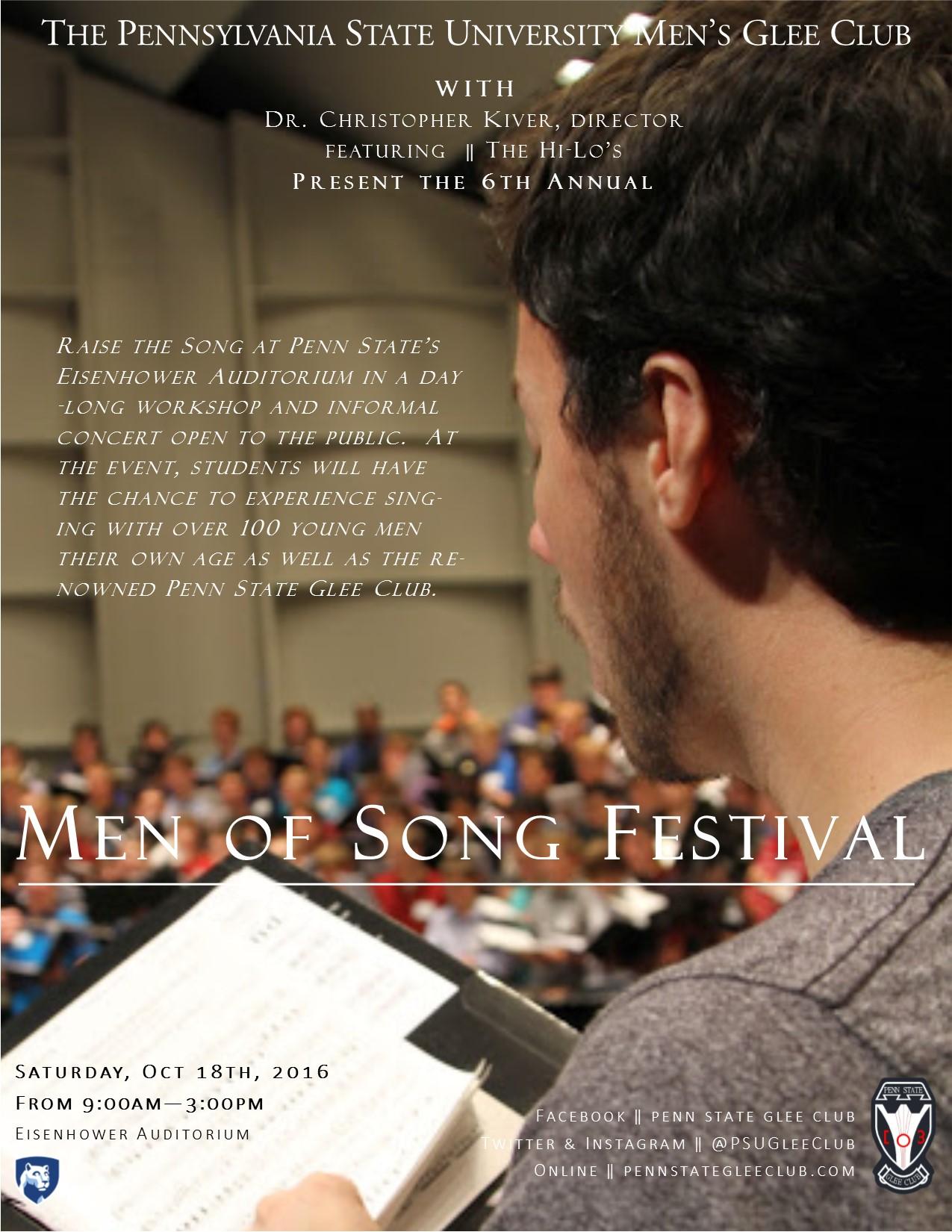 Men of Song Website
